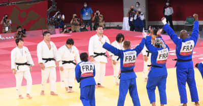 銀メダルの柔道日本 戦わずして敗戦のエース大野は相手に敬意「フランスが強かった」