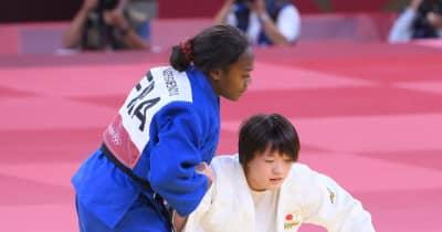 柔道日本銀 今大会初黒星の新井千鶴、ウルフは「ふがいない」フランスの執念に屈す