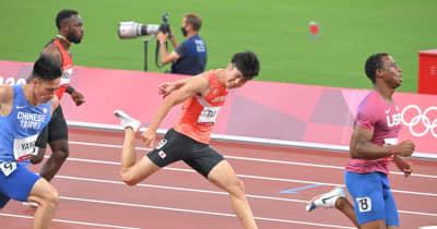 多田修平、100m予選1組6着で予選敗退「自分のレースできなかった」