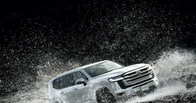 【トヨタ ランドクルーザー 新型】開発責任者「信頼性と軽量化の両立に苦心」…盗難対策でトヨタ初の指紋認証