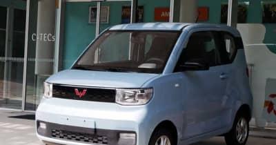 中国ベストセラー EV『宏光 MINI EV』を激写! シンプルかつ効率的な造りに驚き