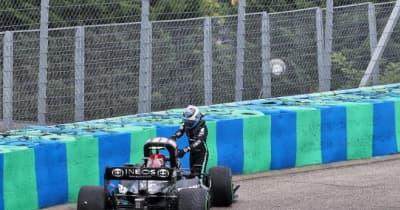 クラッシュのボッタス「ブレーキングポイントの判断を誤った」代表がマクラーレンとレッドブルに謝罪/F1第11戦