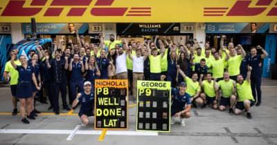 ウイリアムズがダブル入賞「長く苦しい時期だった。言葉が見つからない」とラッセル/F1第11戦