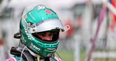 ストロール「接触を避けようとしたが、ブレーキをロックアップさせてしまった」:アストンマーティン F1第11戦決勝