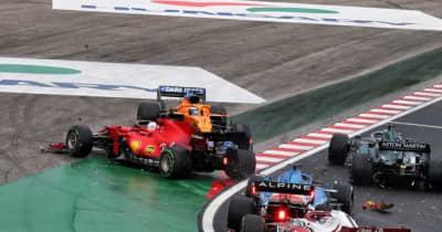 クラッシュの被害者ルクレール、エンジンが使用不可能に「ペナルティを受ける可能性大」とフェラーリF1が苛立ち