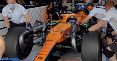 18インチF1タイヤのハンガロリンクテストが終了。最終日はマクラーレンのリカルドが走行