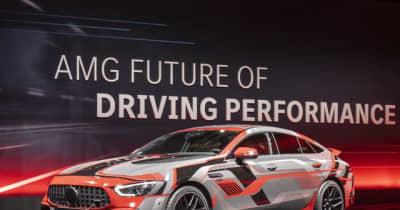 メルセデスAMG 「Eパフォーマンス」、最初の高性能ハイブリッド車発表へ…IAAモビリティ2021