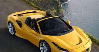 フェラーリ世界販売32%増、日本は3年連続で増加 2021年上半期