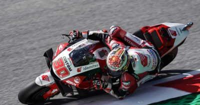 MotoGP第10戦スティリアGP:シーズン後半戦、中上貴晶が初日総合トップタイムで口火を切る