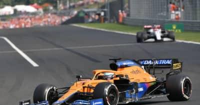リカルド、多重クラッシュを生き延びるもパフォーマンスは大幅低下「入賞圏内を走り続けられなかった」/F1第11戦
