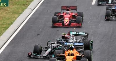 クラッシュに苛立ちF1予算制限制度見直しを求めるレッドブルとフェラーリ。マクラーレンは「これが規則」と冷静