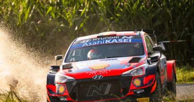 母国ベルギーでヌービルがシェイクダウン最速に。タナクとオジエが続く/WRC第8戦