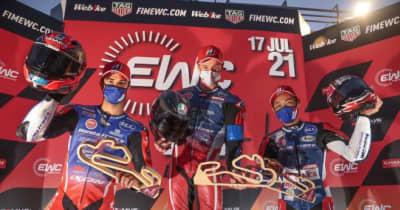 【EWCエストリル12時間】猛暑でのタイヤマネジメント。優勝を決めたライバルへのプレッシャー/TSRホンダ高橋裕紀インタビュー