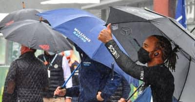 「ファンを待たせただけの茶番」ハミルトン、F1の荒天時の対応を批判、観客への返金を求める:メルセデス/F1第12戦