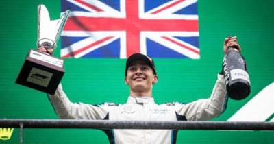 ラッセルが2位でF1初ポディウム「変な経緯であっても、表彰台は表彰台」ウイリアムズ/F1第12戦