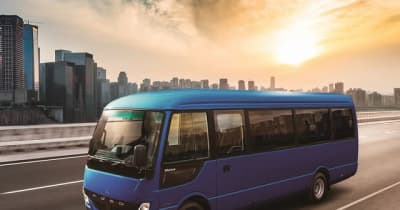 三菱ふそう、小型マイクロバス『ローザ』新型発売…テレマティクス機能を新規搭載