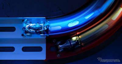 ミニ四駆マンガが現実に! XRを活用した「MINI4WD LASER CIRCUIT」開発中