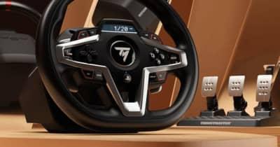 スラストマスター、新レーシングホイール『T248』発表。新FFB搭載のPS4&PS5正式ライセンス製品