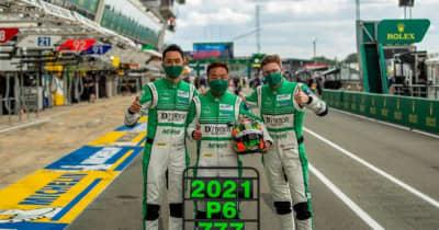 ル・マン24時間初挑戦・6位入賞のD'station Racing。星野敏は悲願成就に「感無量」