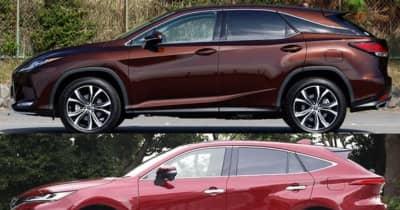 シート、ラゲッジ、装備に大きな違いが! 3代目から独立したレクサス RX VS トヨタ ハリアーの内装徹底比較