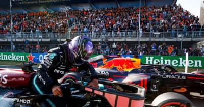 ハミルトン、後れを取り戻し0.038秒差の2番手「あと1セッションあったらな」メルセデス/F1第13戦予選