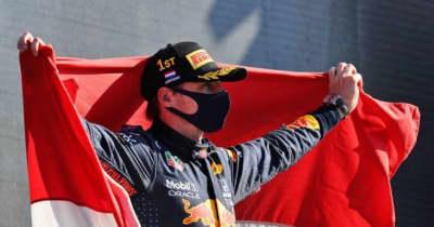 フェルスタッペンが初の母国レースを制して再び選手権首位に。角田はPUトラブルでリタイア【決勝レポート/F1第13戦】