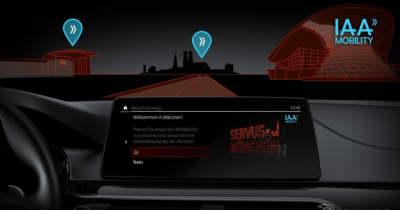 BMW、専用車載アプリでイベントのパーク&ライドをサポート…独で