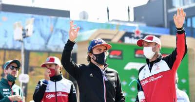 アロンソ6位「フェラーリをオーバーテイクした時にはいい気分だった」アルピーヌ/F1第13戦決勝