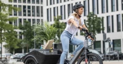 BMWがライセンス付与の3輪電動アシスト自転車、市販化に向け公開