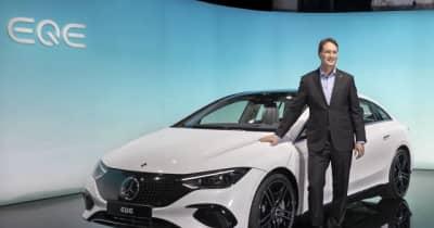 メルセデスベンツ、Eクラスに相当する電気自動車「EQE」を発表へ