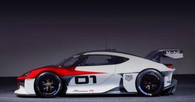 ポルシェ、IAAモビリティで電動カスタマーレーシングコンセプトカー『ミッションR』を発表