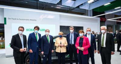 シェフラー、EVの航続を伸ばす最新システムをドイツで初公開
