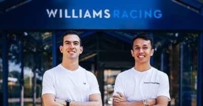 アルボンがウイリアムズと契約、2022年F1復帰が決定。チームメイトはラティフィ