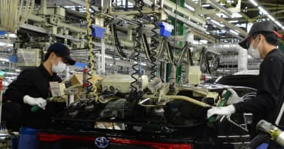 トヨタ、9・10月の生産計画を見直し…新型コロナによる部品供給不足で
