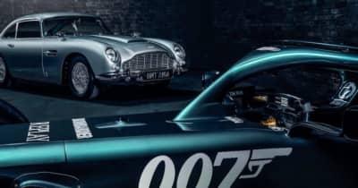 アストンマーティンF1と映画『007』がコラボ。最新作公開を記念し、マシンにロゴ