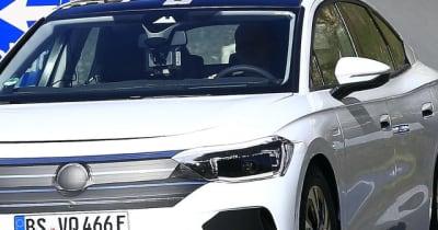 VW パサート 後継モデルはEV! 『エアロBセダン』2023年デビューへ向け開発中