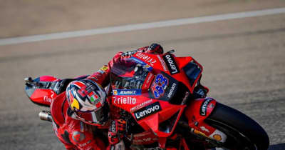 MotoGP第13戦アラゴンGP:ミラーが初日総合トップ。マルク・マルケスはFP1でトップもFP2で転倒喫する