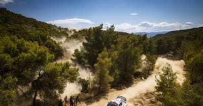 【順位結果】2021年WRC第9戦ギリシャ SS6後