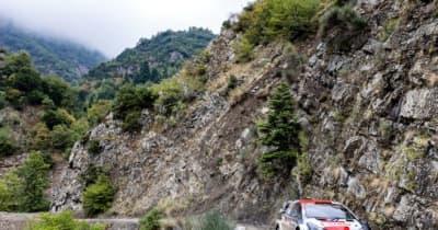 【順位結果】2021年WRC第9戦ギリシャ SS15後