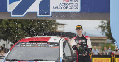 世界ラリー、復活のアクロポリスはロバンペラ圧勝…トヨタの弱冠20歳