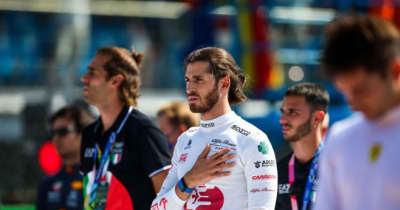 ジョビナッツィ「とても好調だったのに、1周目で台無しになるなんて悔しい」:アルファロメオ F1第14戦決勝