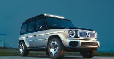 Gクラスもスマートも! メルセデスが明かした電気自動車の未来