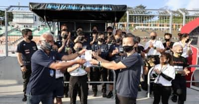 スーパーGT第5戦鈴鹿のZFアワードは車両修復を果たしたTeam LeMans wMOTOYAMA Racingが受賞