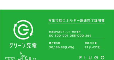 プラゴ、再生可能エネルギーを使用した電気自動車の「グリーン充電」を開発