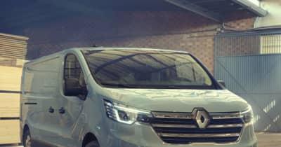 ルノー『トラフィック』改良新型…受注を欧州で開始