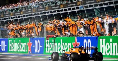 【F1第14戦無線レビュー(2)】3年ぶりの勝利を挙げたリカルド「僕は一度も表舞台から去ってない!」