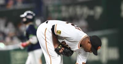 巨人 メルセデスが五回途中5失点でKO 毎回先頭打者の出塁を許す