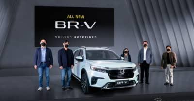 ホンダ 、3列シートの小型SUV「BR-V」新型、インドネシアで発表