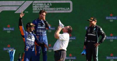 【動画】マクラーレンF1、ワンツーフィニッシュを達成したイタリアGPの舞台裏
