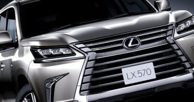 レクサス 新型LXは2022年度に登場! 注目はランクルにはないハイブリッドモデルと豪華な2列目シートにあり